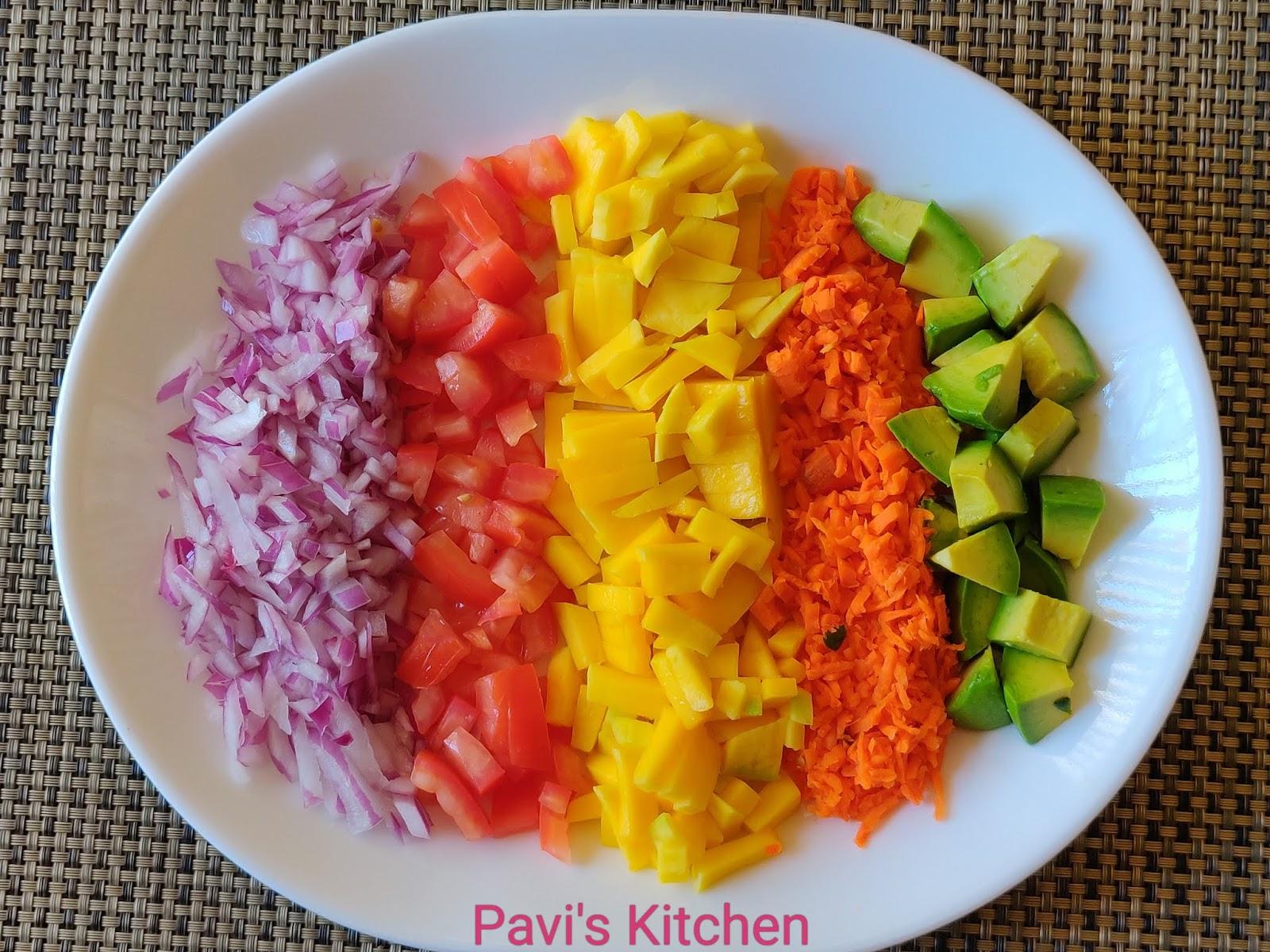 Mung Bean Vegetable Salad Recipe