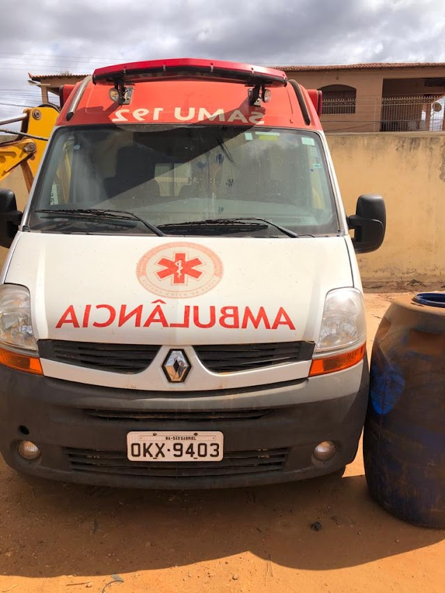 A ambulância do Samu de São Gabriel, Gastou R$ 34,600, curioso é que o veiculo nunca saiu do pátio.