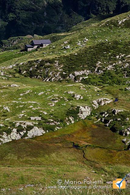 Panorama scendendo a valle