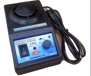 Cara mengusir tikus dengan suara, menggunakan alat ultrasonik