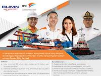 Lowongan Kerja BUMN PT Pelabuhan Indonesia II (Persero) | Deadline : 26 November 2018