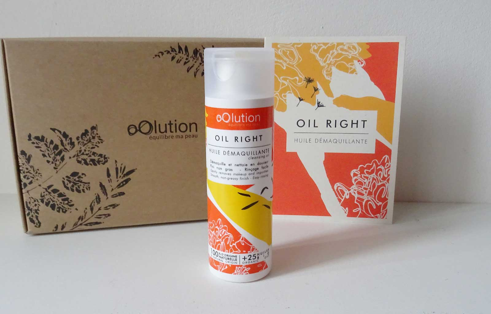 démaquillant huile Oil Right oOlution