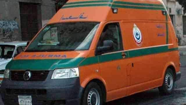إصابة 3 أشخاص فى حادث تصادم فى أخميم بسوهاج