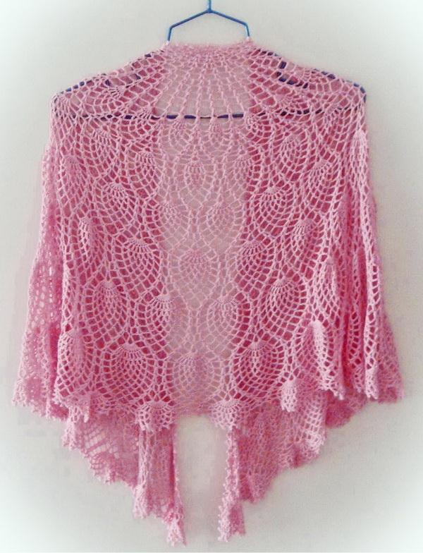 Crochet Pineapple Shawl Patterns - Beautiful