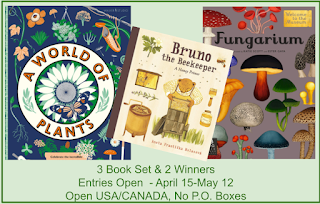 BRUNO THE BEEKEEPER & A WORLD OF PLANTS & FUNGARIUM
