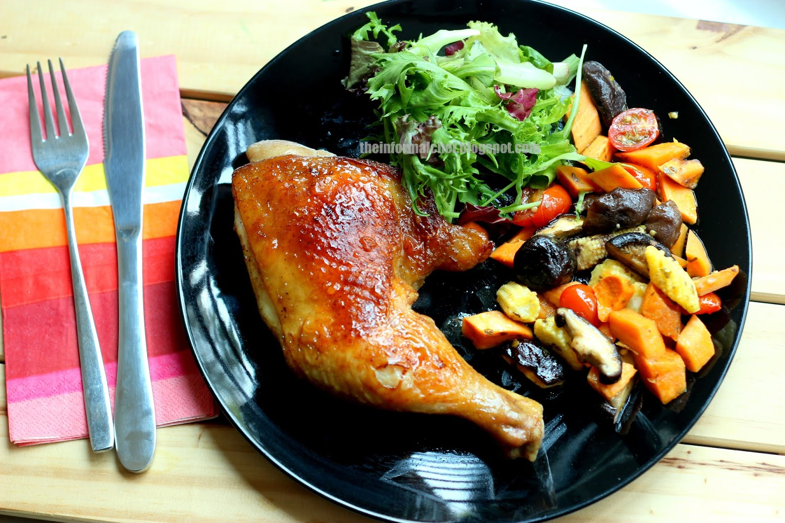02fd0d8a1 The Informal Chef  Simple Roast Chicken 简单烤鸡