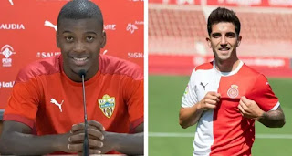 Barcelona set to make extra €7m from two loan star players Monchu and Akieme