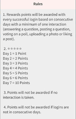 theAsianparent app daily login reward