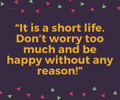 Sweet Happy life status for Whatsapp