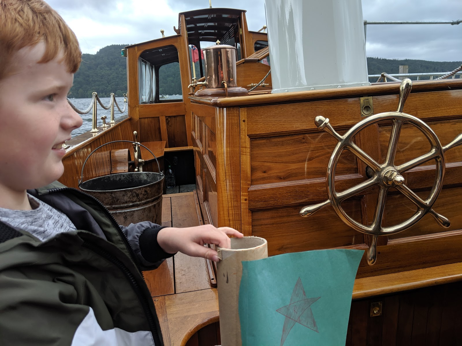 13 Reasons to Visit Windermere Jetty with Kids  - on board Osprey boat