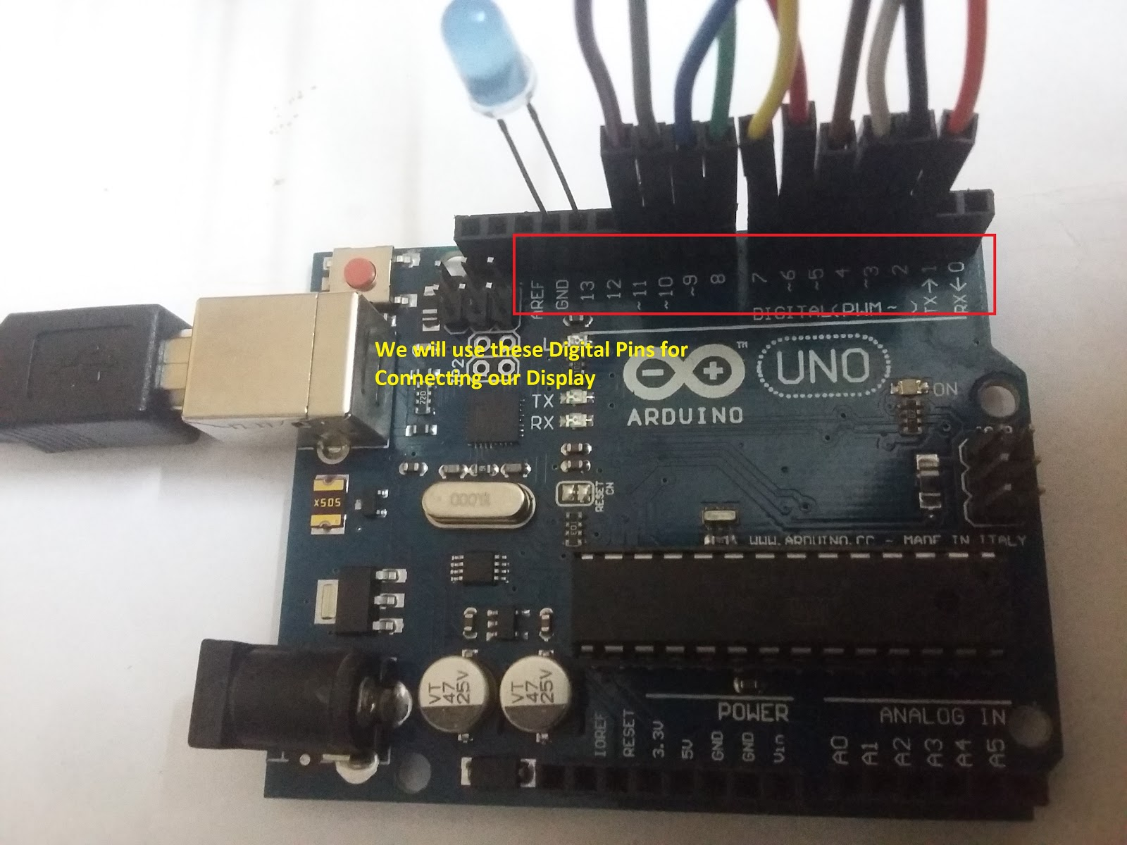 Penetration testing by expl i r arduino display
