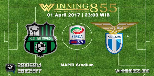 Prediksi Skor Sassuolo vs Lazio 01 April 2017