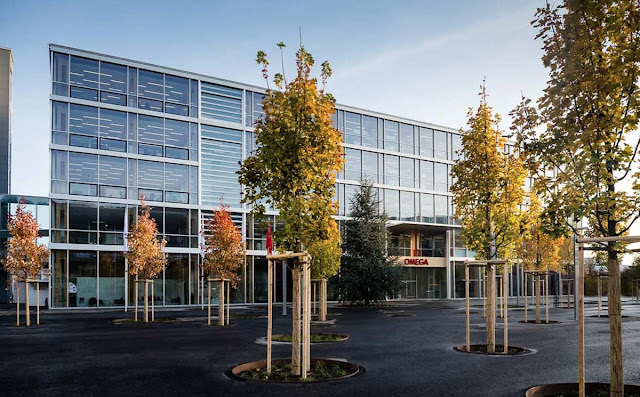 Omega's new facility in Biel/Bienne