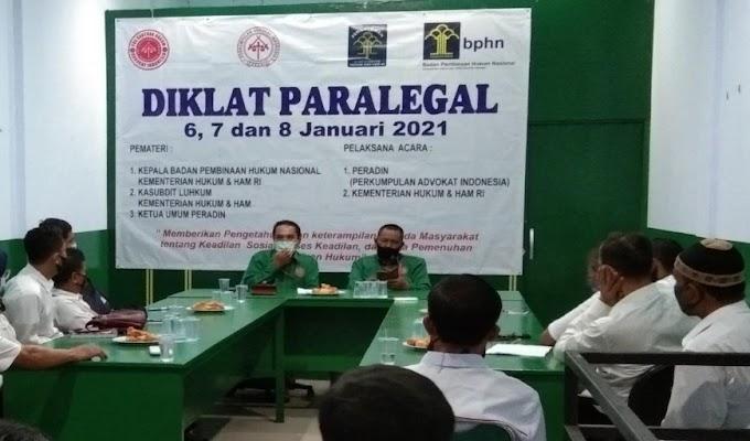 Diklat Paralegal Posbakumadin Peradin Digelar Secara Video Conference