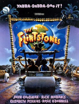 Poster Of The Flintstones (1994) In Hindi English Dual Audio 300MB Compressed Small Size Pc Movie Free Download Only At worldfree4u.com