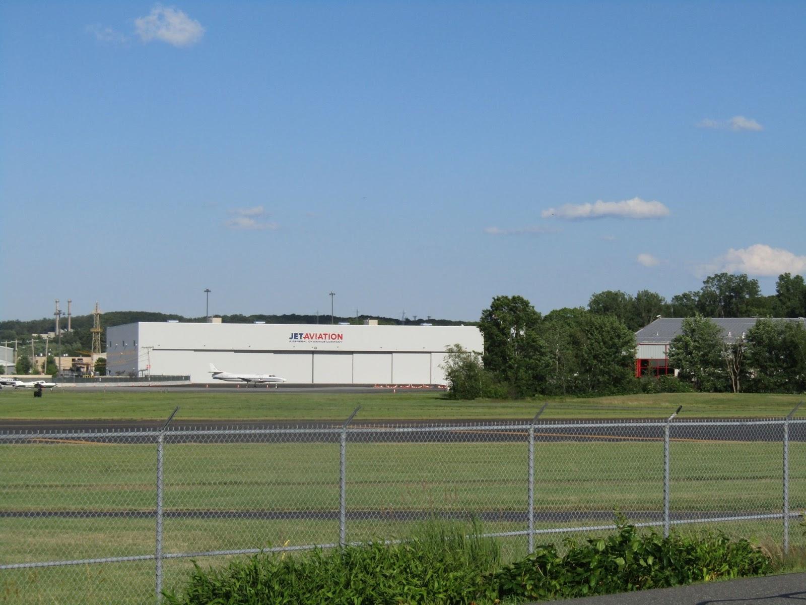 Jet Aviation Raises Beam on Hangar - High-Profile Bedford ...