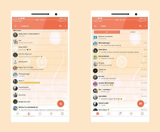 BBM MOD CandyLight v3.3.2.31 Apk Terbaru