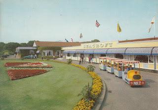 Pontin's Seacroft Holiday Centre, John Hinde (Dis.) Ltd. Postally used 13 May 1985