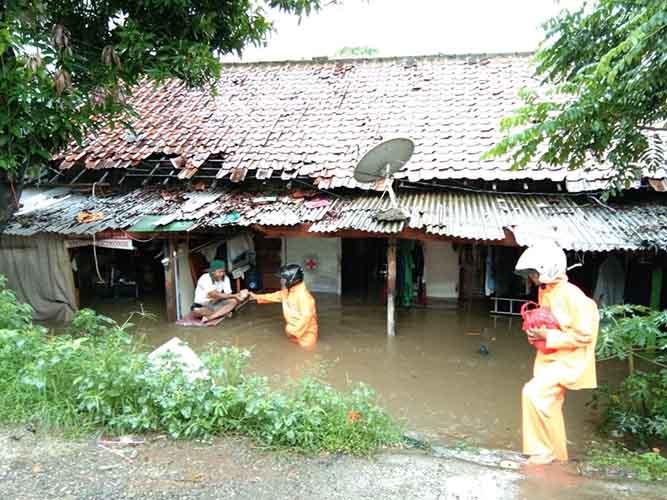 Relawan PKS Kampung Rambutan