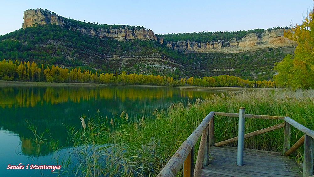 Laguna de Uña   Sendes i Muntanyes