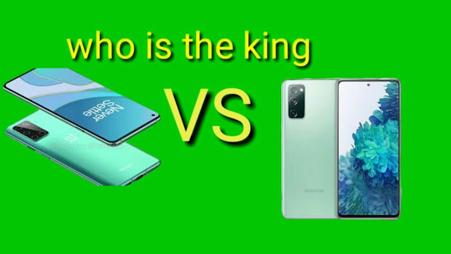 OnePlus 8T and Galaxy S20 FE which one is the king?