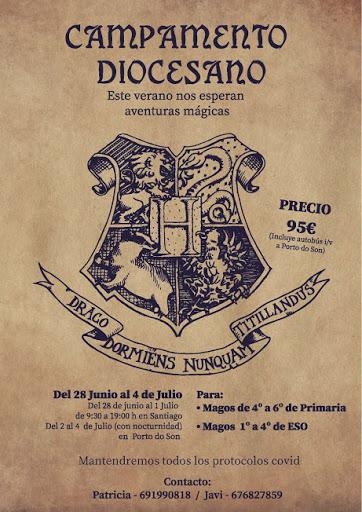 Campamento diocesano - Harry Potter