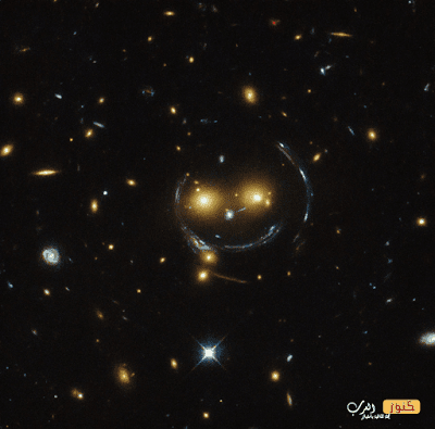 اكتشاف شكل غريب في الفضاء الخارجي