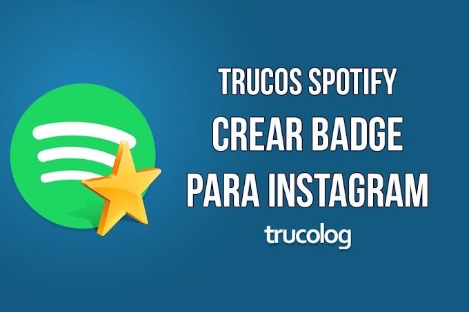 Truco: Crear un badge de Spotify para compartir en Instagram
