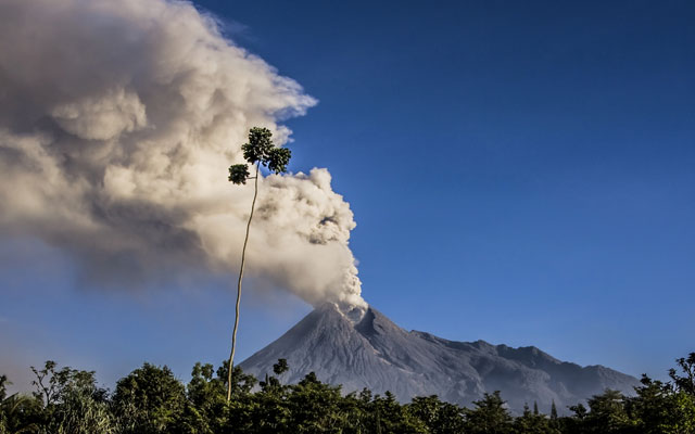 Mount Merapi, Indonesia