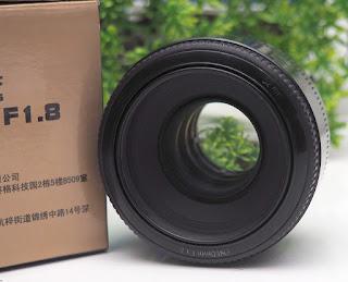 Lensa Yongnuo 50mm f1.8 for canon Bekas