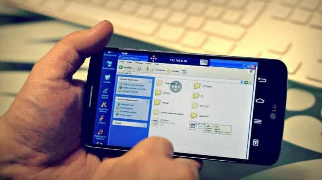 control windows pc from microsoft android app