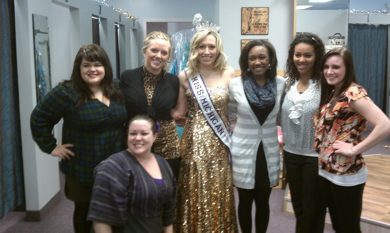 Miss Michigan International 2012: Nothing is more fun than