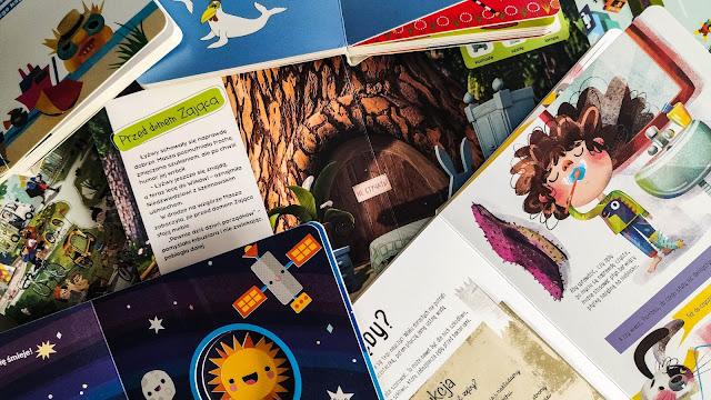 Książki kartonowe dla dzieci (2-5 lat)-  ponad 15 tytułów, które ostatnio nas urzekły