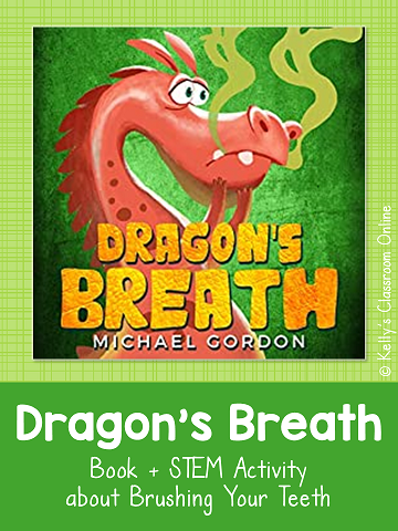 Learn why it's important to brush your teeth with Dragon's Breath by Michael Gordon & this STEM activity. What happens when you soak eggs in soda?