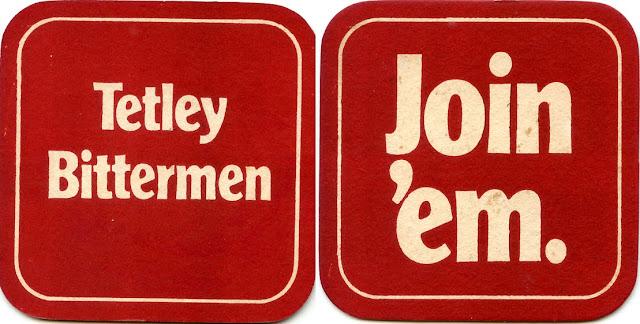 Beer mat - Tetley Bitter 1970s