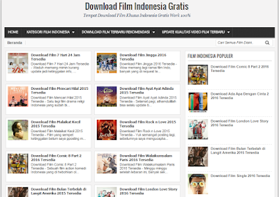 Situs Download Film Indonesia