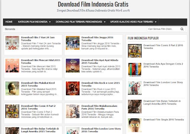 Situs Download Film Indonesia