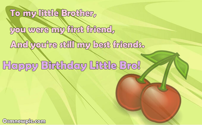 New Birthday Quotes for Brother On Facebook