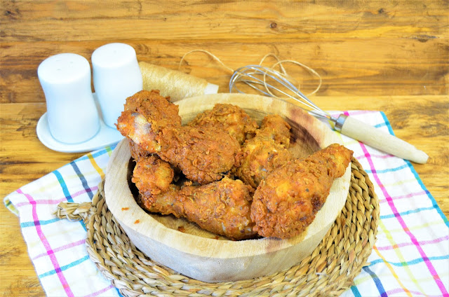 Las delicias de Mayte,  pollo kentucky, pollo frito Kentucky, pollo frito estilo KFC, pollo KFC, pollo frito Kentucky (estilo KFC), pollo frito estilo Kentucky, pollo frito,