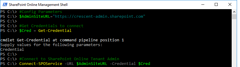 restore deleted onedrive site powershell