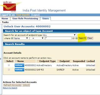 How to unlock CSI user ID in IM Portal