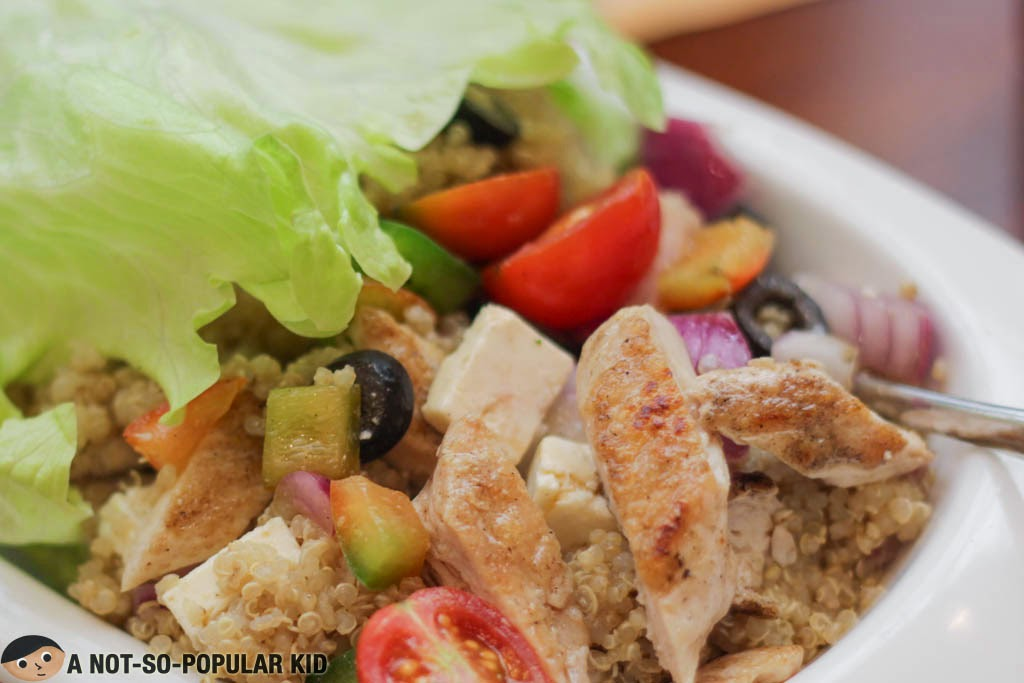 The Grilled Chicken Quinoa Salad of Torch