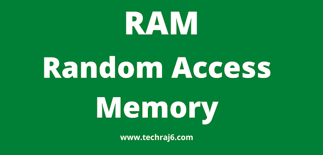 RAM full form, What is the full form of RAM