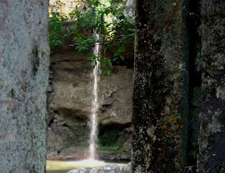 Parte da Queda d' Água Vista a Partir da Usina