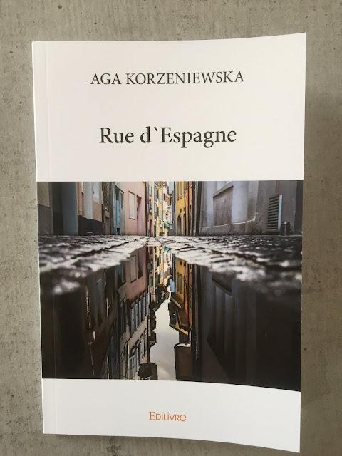 """Recenzje #87 - """"Rue d'Espagne"""" - okładka książki pt. """"Rue d'Espagne"""" - Francuski przy kawie"""