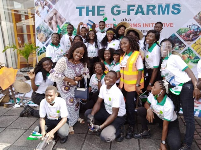 One Youth to One Farm, G-Farms launches agricultural scheme to empower youths