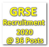 GRSE_Recruitment_2020