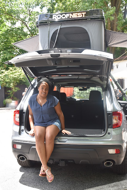 Go Car Camping in the Honda Passport this Summer