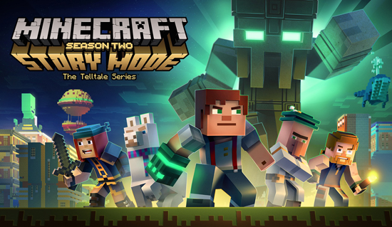 Video Games Minecraft Story Mode Season 2 Cast And Characters Return For Five All New Episodes All Platforms