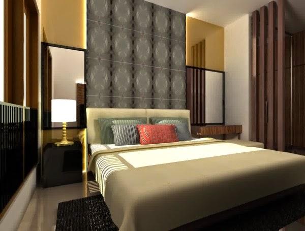 Contoh kamar tidur utama yang moderen dan nyaman